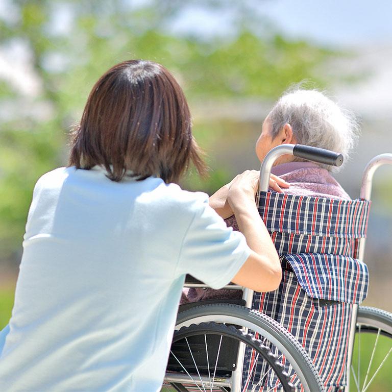 成長著しい介護業界